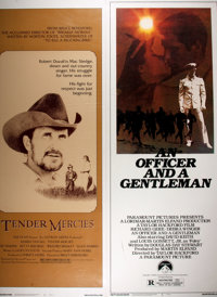 [Movie Posters]. An Officer and a Gentleman [and] Tender Mercies</