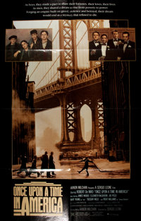 """[Movie Posters]. Group of Four One Sheet Posters. Each 41"""" x 27"""". Includes The Enforcer, Once Upon a Time in A..."""