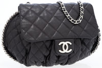 Chanel Quilted Chain Around Crossbody Bag