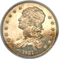 Proof Bust Quarters, 1831 25C Large Letters PR66 PCGS. CAC. B-5, R.7 as a proof....