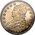 Proof Bust Half Dollars, 1829 50C PR64 PCGS. O-108, R.8 as a Proof. Gold CAC....