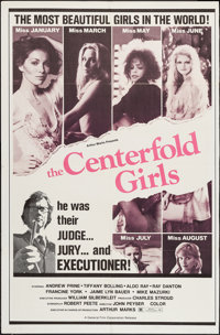 """The Centerfold Girls (General Film, 1974). Trimmed One Sheet (27.5"""" X 42"""") & Photos (7) (8"""" X 10""""..."""