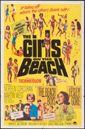 "Movie Posters:Rock and Roll, The Girls on the Beach (Paramount, 1965). One Sheet (27"" X 41"")& Photos (3) (8"" X 10""). Rock and Roll.. ... (Total: 4 Items)"