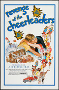 "Movie Posters:Sexploitation, Revenge of the Cheerleaders (Monarch, 1976). One Sheet (27"" X 41"")& Photos (8) (8"" X 10""). Sexploitation.. ... (Total: 9 Items)"