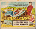 """Movie Posters:Comedy, The Kettles in the Ozarks (Universal International, 1956). TrimmedHalf Sheet (22"""" X 26.75"""") Style A. Comedy.. ..."""
