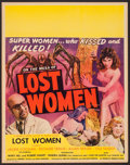 "Movie Posters:Horror, Mesa of Lost Women (Howco, 1953). Jumbo Window Card (22"" X 28""). Horror.. ..."