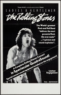 "Movie Posters:Rock and Roll, Ladies and Gentlemen: The Rolling Stones (Dragon Aire, 1973).Poster (24.5"" X 38"") QuadraSound Style. Rock and Roll.. ..."