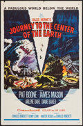 "Movie Posters:Science Fiction, Journey to the Center of the Earth (20th Century Fox, 1959). OneSheet (27"" X 41"") & Lobby Card (11"" X 14""). Science Fiction...(Total: 2 Items)"
