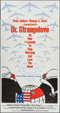 """Movie Posters:Comedy, Dr. Strangelove or: How I Learned to Stop Worrying and Love theBomb (Columbia, 1964). Three Sheet (41"""" X 78""""). Comedy.. ..."""