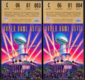 Football Collectibles:Tickets, 1993 Super Bowl XXVII Ticket Stubs Lot of 2....