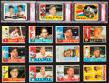 Baseball Cards:Lots, 1960 Topps Baseball Card Collection (208) - An Original OwnerCollection. ...