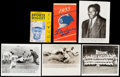 Baseball Collectibles:Others, 1940's-50's Dodgers/Jackie Robinson Score Card/Photos &Magazine Collection (14). ...