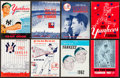 Baseball Collectibles:Publications, 1955 - 1967 New York Yankees Yearbooks Collection of (8). ...