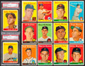 Baseball Cards:Lots, 1958 Topps Baseball Card Collection (189) - An Original OwnerCollection. ...