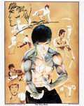 Original Comic Art:Miscellaneous, Neal Adams Remarqued/Signed Bruce Lee Print (Continuity Associates, 2011)....