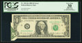 Error Notes:Foldovers, Fr. 1913-K $1 1985 Federal Reserve Note. PCGS Apparent Very Fine30.. ...