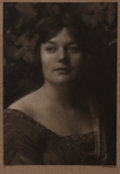 "Photography:Studio Portraits, Jesse T. Banfield, photographer. Signed Silver Print Photographic Portrait. 4.5"" x 6.5"". Signed in graphite by the photograp..."