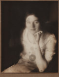 """Photography:Studio Portraits, Jesse T. Banfield, photographer. Signed Silver Print Photographic Portrait. 7.25"""" x 9.25"""". Signed in graphite by the photogr..."""