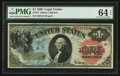 Large Size:Legal Tender Notes, Fr. 18 $1 1869 Legal Tender PMG Choice Uncirculated 64 EPQ.. ...
