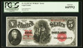 Large Size:Legal Tender Notes, Fr. 92 $5 1907 Legal Tender PCGS Gem New 66PPQ.. ...