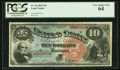 Large Size:Legal Tender Notes, Fr. 96 $10 1869 Legal Tender PCGS Very Choice New 64.. ...