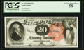 Large Size:Legal Tender Notes, Fr. 137 $20 1880 Legal Tender PCGS Choice About New 58.. ...