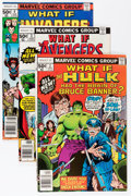 Bronze Age (1970-1979):Superhero, What If? #2-45 Group (Marvel, 1977-84) Condition: Average VF.... (Total: 44 Comic Books)