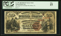 National Bank Notes:Texas, Dallas, TX - $20 1882 Brown Back Fr. 505 The American Exchange NB Ch. # (S)3623. ...