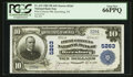 National Bank Notes:Tennessee, Dyersburg, TN - $10 1902 Plain Back Fr. 633 First-Citizens NB Ch. #5263. ...