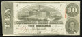 Confederate Notes:1863 Issues, T59 $10 1863 PF-29 Cr. UNL.. ...