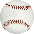 Autographs:Baseballs, Herb Score Single Signed Baseball. Making the Cleveland Indians histeam for most of his major league career, Score was kno...