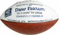 Autographs:Footballs, Drew Pearson Dallas Cowboys Presentation Football. Duplicate copyof the presentation football given to Drew Pearson commem...