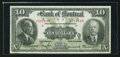 Canadian Currency: , Montreal, PQ- The Bank of Montreal $10 Jan. 2, 1923 Ch. # 505-56-04. ...