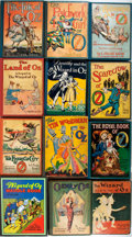 Books:Children's Books, [L. Frank Baum]. Twelve Books from L. Frank Baum's OzSeries. Various publishers and editions. With a first edit...(Total: 12 Items)