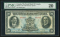 Canadian Currency: , Montreal, PQ- The Royal Bank of Canada $20 Jan. 3, 1927 Ch. #630-14-12. ...