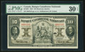 Canadian Currency: , Montreal, PQ- Banque Canadienne Nationale $10 Feb. 1, 1925 Ch. #85-10-04. ...