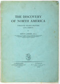 Books:Americana & American History, Sofus Larsen. The Discovery of North America Twenty Years BeforeColumbus. Hachette Ltd., 1924. First edition. I...