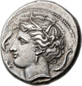 Ancients:Greek, Ancients: SICILY. Syracuse. Agathocles (317-289 BC). AR tetradrachm(26mm, 17.02 gm, 9h)....