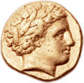 Ancients:Greek, Ancients: MACEDONIAN KINGDOM. Philip II (359-336 BC). AV stater (18mm, 8.56 gm, 12h)....