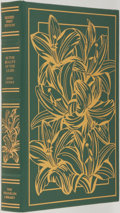 Books:Fiction, John Updike. SIGNED LIMITED EDITION. In the Beauty ofLilies. The Franklin Library, 1996. Limited leather bound ...