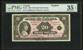 Canadian Currency: , BC-9b $20 1935 . ...