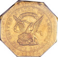 Territorial Gold, 1852 $50 Assay Office Fifty Dollar, 900 Thous. XF45 PCGS. K-14, High R.5....