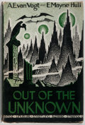 Books:Science Fiction & Fantasy, A. E. Van Vogt and E. Mayne Hull. Out of the Unknown. Fantasy Publishing Company, 1948. First edition. Jacket de...