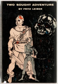 Books:Science Fiction & Fantasy, Fritz Leiber. Two Sought Adventure. Exploits of Fafhrd and the Gray Mouser. Gnome Press, 1957. First edition. Pu...
