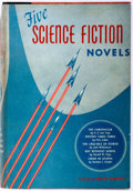 Books:Science Fiction & Fantasy, Martin Greenburg, compiler. Five Science Fiction Novels. Gnome Press, 1952. First edition. Publisher's original ...