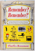 Books:Americana & American History, Charles Beaumont. Remember? Remember? Macmillan Company,1963. First printing. Publisher's original cloth and dust j...