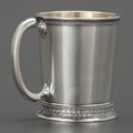 Silver Holloware, American:Cups, A GORHAM SILVER AND SILVER GILT CUP. Gorham Manufacturing Co.,Providence, Rhode Island, circa 1900. Marks: (lion-anchor-G),...