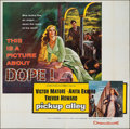 "Movie Posters:Crime, Pickup Alley (Columbia, 1957). Six Sheet (79"" X 80""). Crime.. ..."