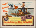 "Movie Posters:Adventure, The Adventures of Tom Sawyer (NTA, R-1958). Half Sheet (22"" X 28"").Adventure.. ..."