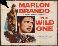 "The Wild One (Columbia, 1953). Half Sheet (22"" X 28"") Style A. Exploitation"